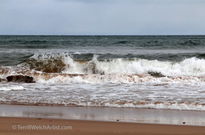 Atlantic Ocean north shores PEI by Terrill Welch May 9 2016 IMG_3505