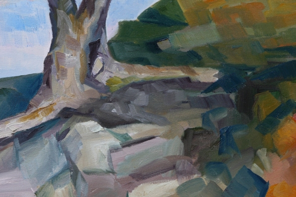 detail 1 Evening and the Arbutus Tree by Terrill Welch 2013_01_07 033